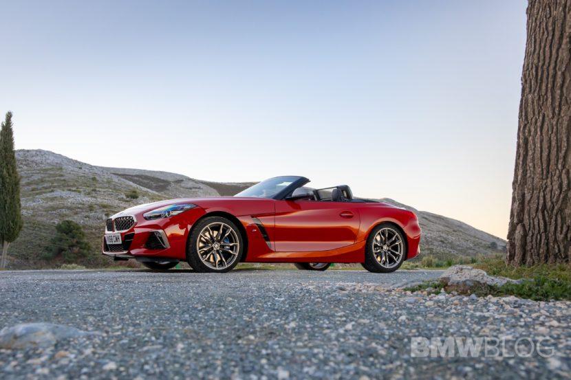 BMW Z4 M40i San Francisco Red 18 830x553