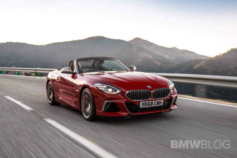 BMW Z4 M40i San Francisco Red 19 830x553