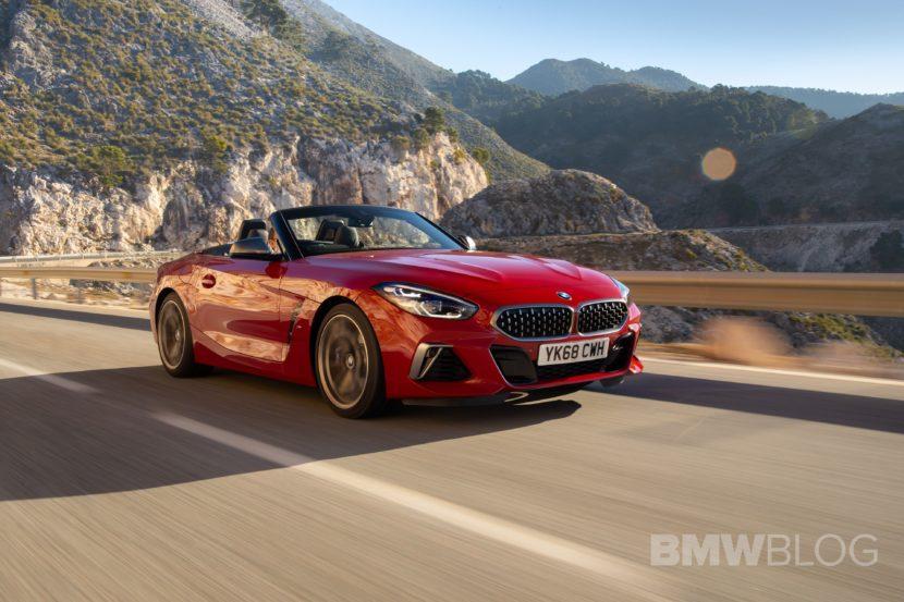 BMW Z4 M40i San Francisco Red 23 830x553