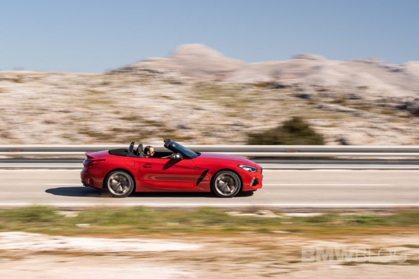 BMW Z4 M40i San Francisco Red 24 830x553