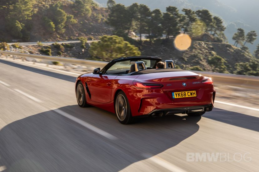 BMW Z4 M40i San Francisco Red 27 830x553