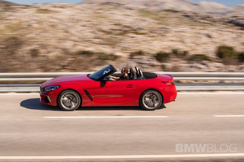 BMW Z4 M40i San Francisco Red 37 830x553