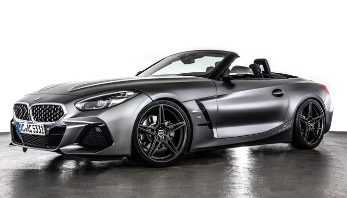 BMW Z4 wheels ac schnitzer