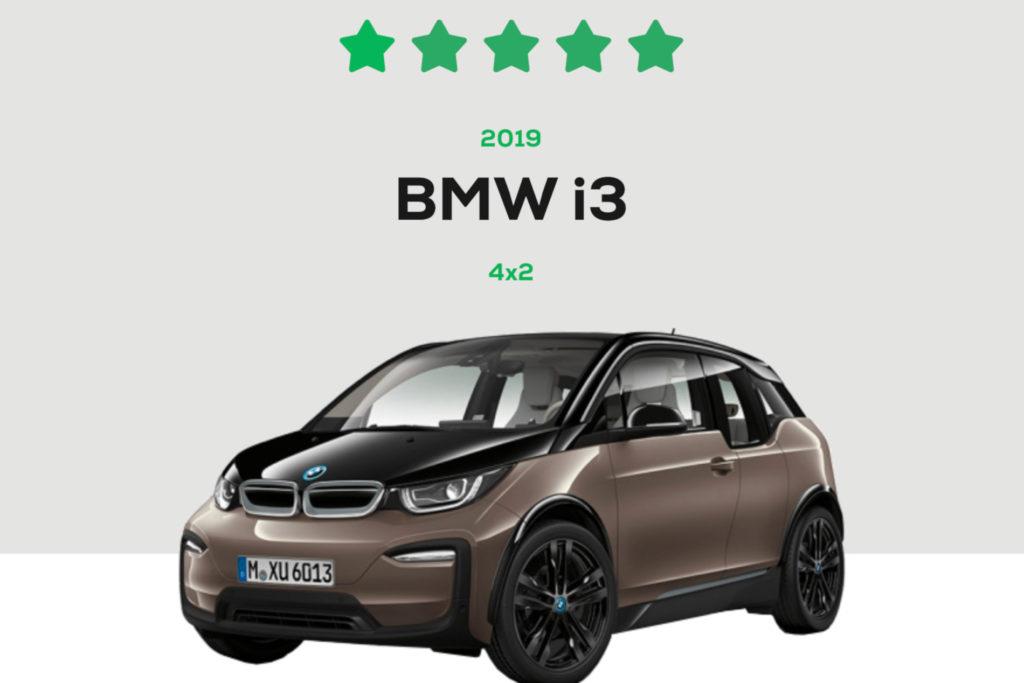 BMW i3 Green NCAP 5 Stars