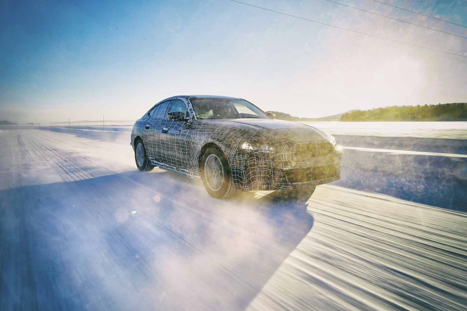 Upcoming BMW i-models undergo extreme weather testing
