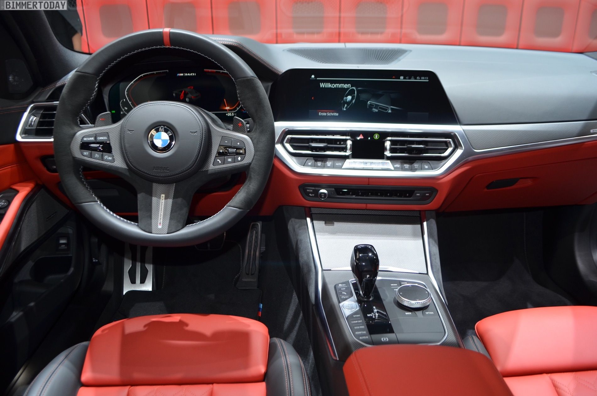 Geneva 2019: BMW M340i G20 with M Performance Parts