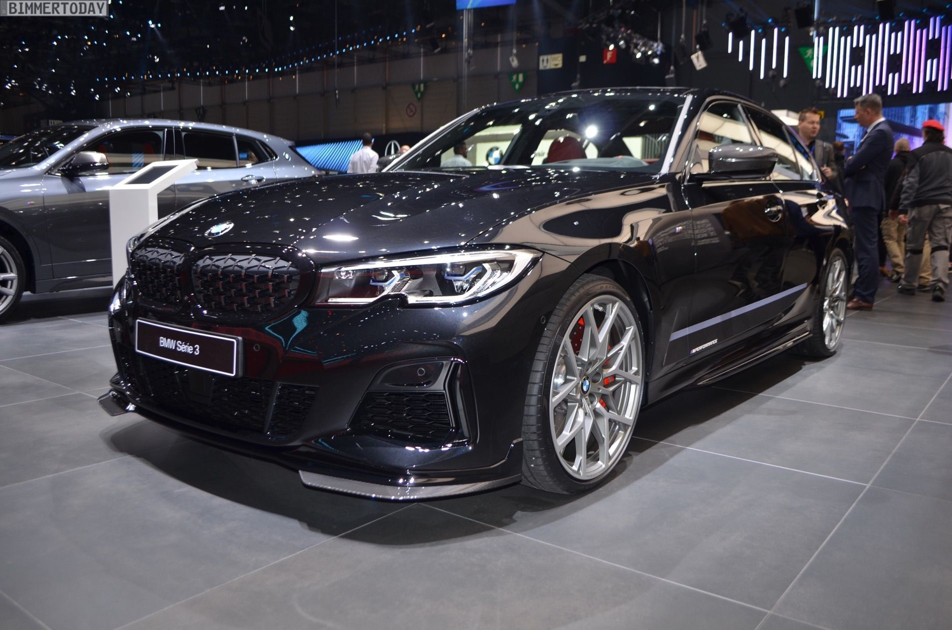 Geneva 2019 Bmw M340i G20 With M Performance Parts