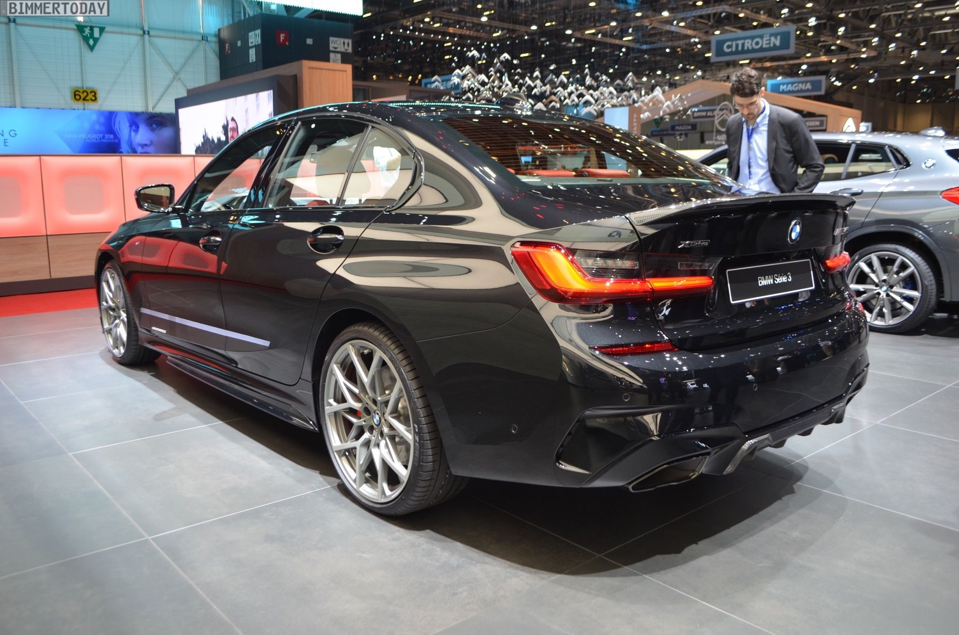 Geneva 2019 Bmw M340i G20 With M Performance Parts Cars And News