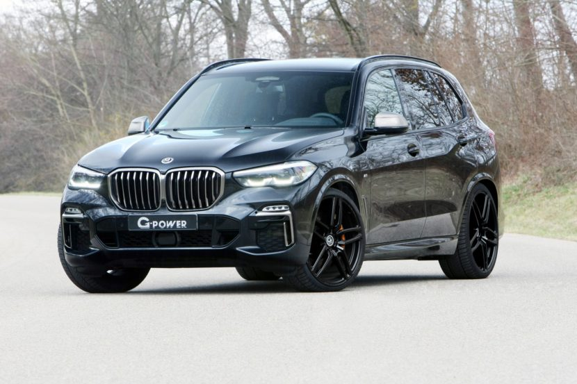 G Power BMW X5 M50d 830x553