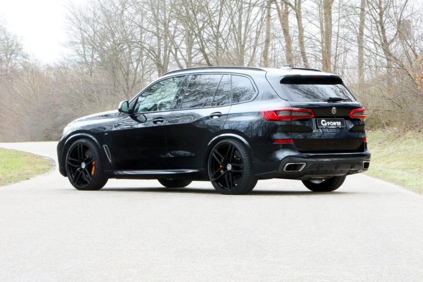 G Power M50d BMW X5 830x553
