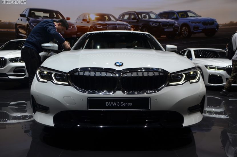 Genf 2019 BMW 330e G20 Limousine Live 03 830x550