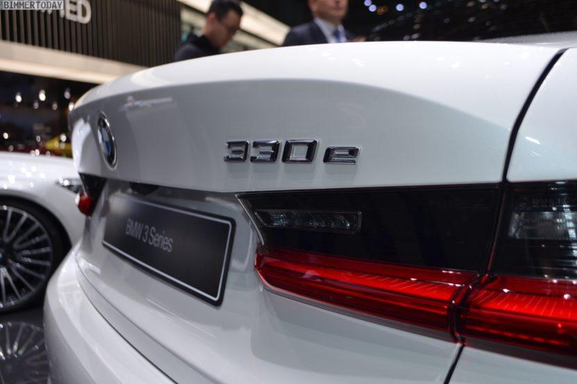 Genf 2019 BMW 330e G20 Limousine Live 12 830x553