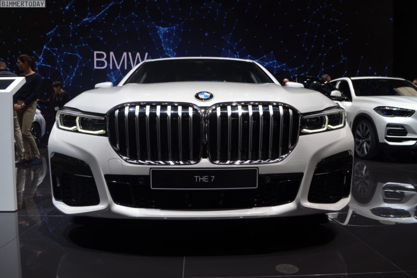 Genf 2019 BMW 7er Facelift G11 LCI 745e M Sportpaket Live 03 830x553