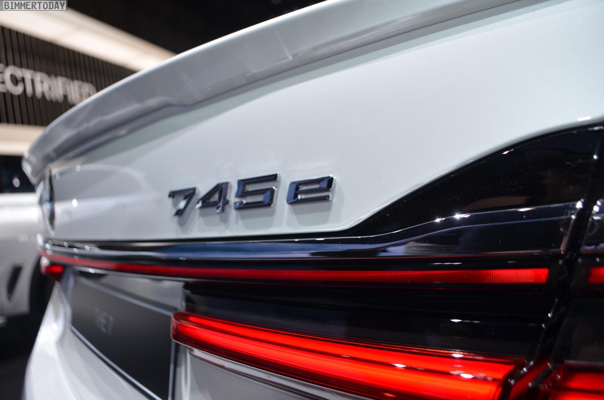 Genf 2019 BMW 7er Facelift G11 LCI 745e M Sportpaket Live 11