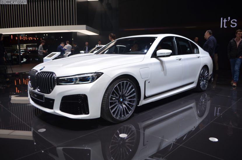 Genf 2019 BMW 7er Facelift G11 LCI 745e M Sportpaket Live 12 830x550