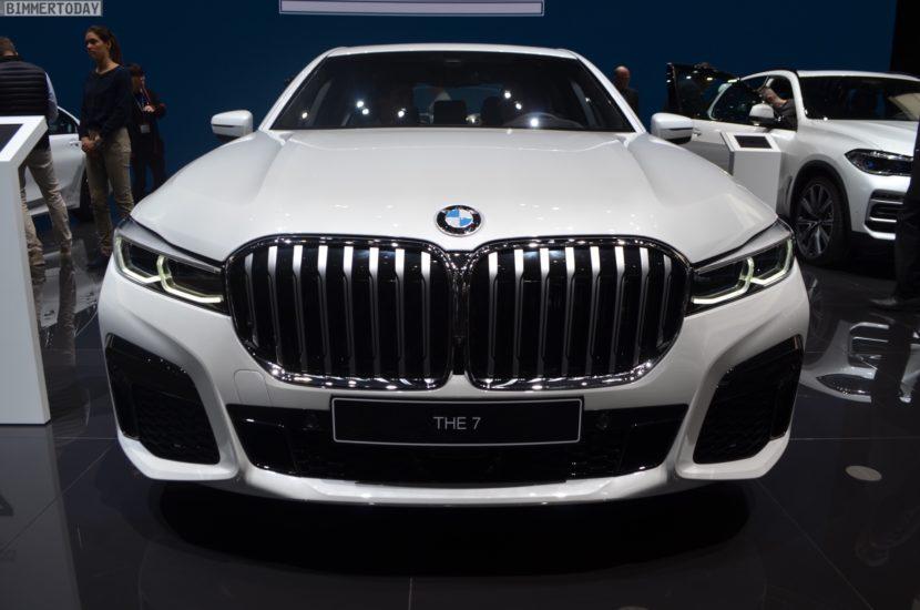 Genf 2019 BMW 7er Facelift G11 LCI 745e M Sportpaket Live 14 830x550