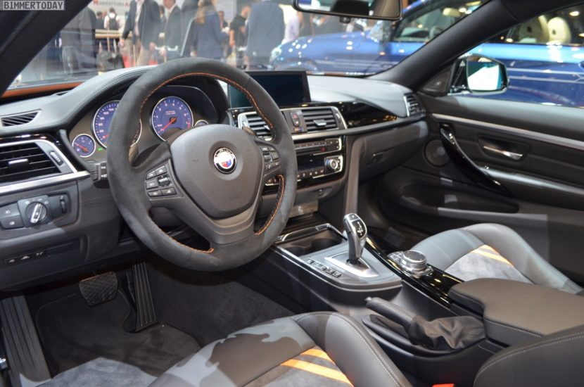 Genf 2019 BMW Alpina B4 S Edition 99 Heritage Interieur Live 01 830x550