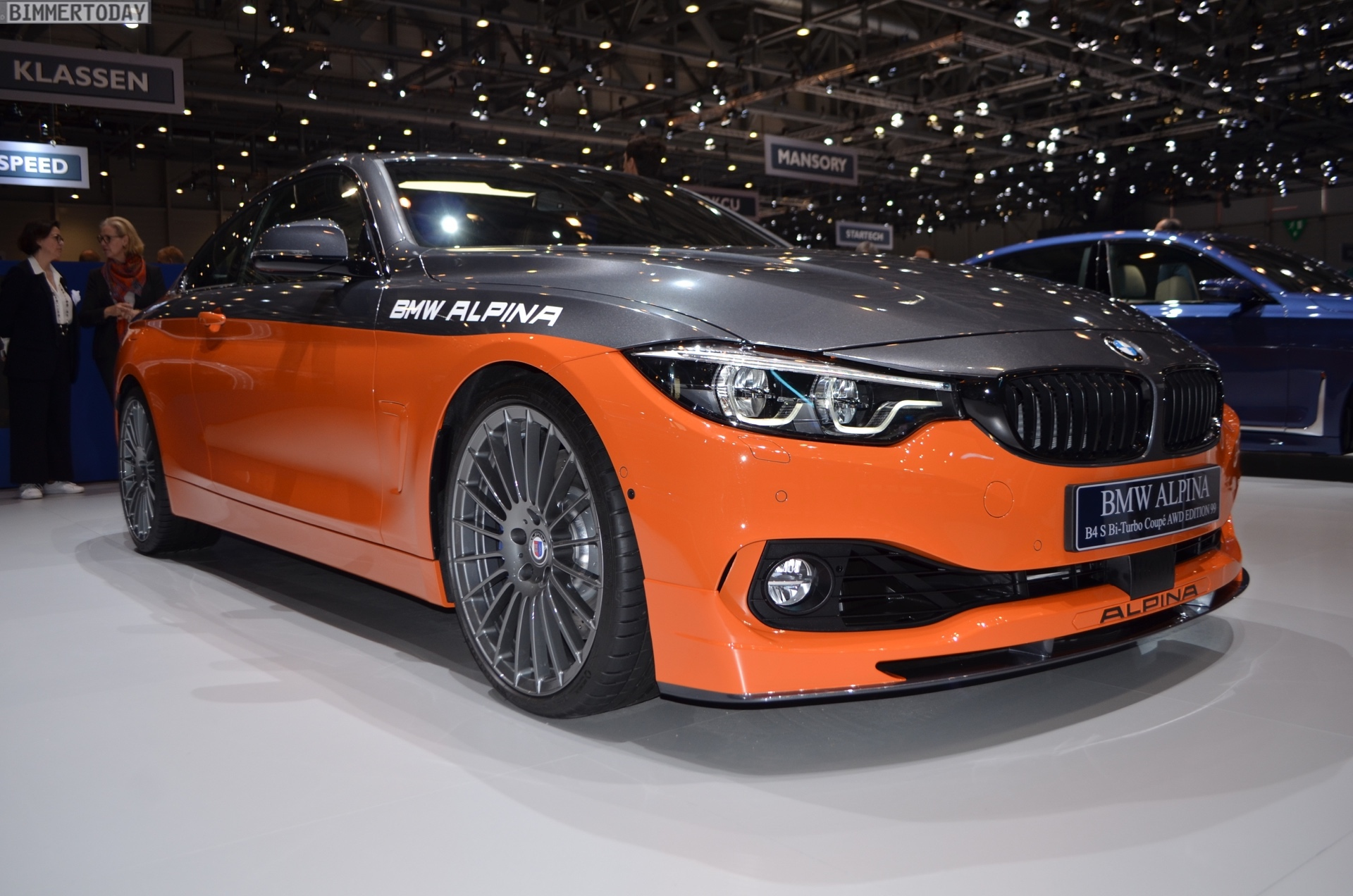 Genf 2019 BMW Alpina B4 S Edition 99 Live 03