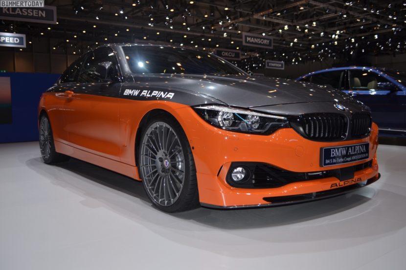 Genf 2019 BMW Alpina B4 S Edition 99 Live 18 830x553