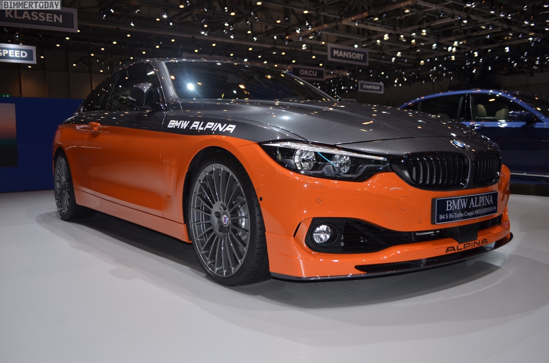 Genf 2019 BMW Alpina B4 S Edition 99 Live 18
