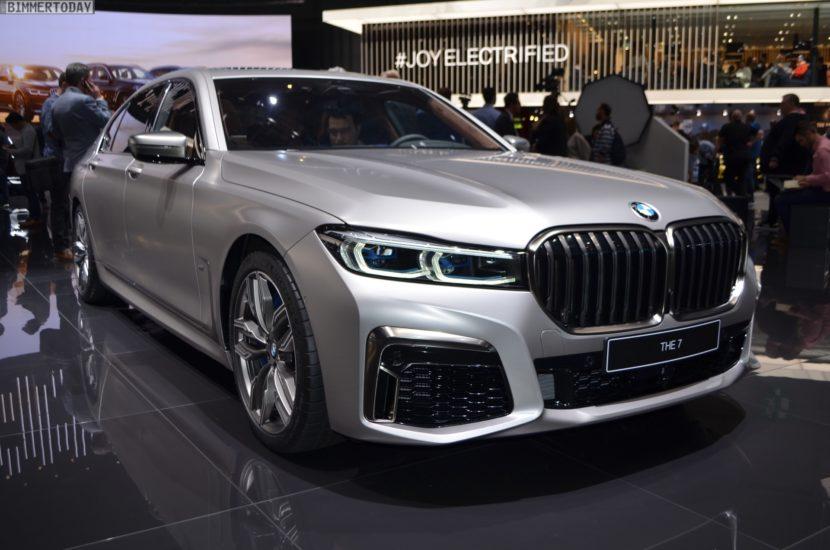 Genf 2019 BMW M760Li G12 Facelift LCI Individual Frozen Cashmere Live 03 830x550