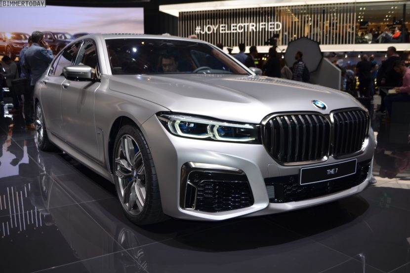 Genf 2019 BMW M760Li G12 Facelift LCI Individual Frozen Cashmere Live 03 830x553