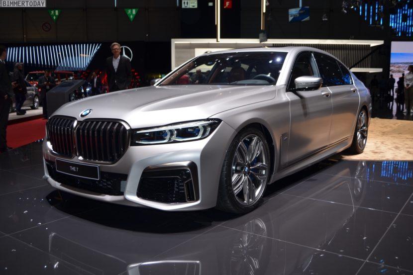 Genf 2019 BMW M760Li G12 Facelift LCI Individual Frozen Cashmere Live 17 830x553