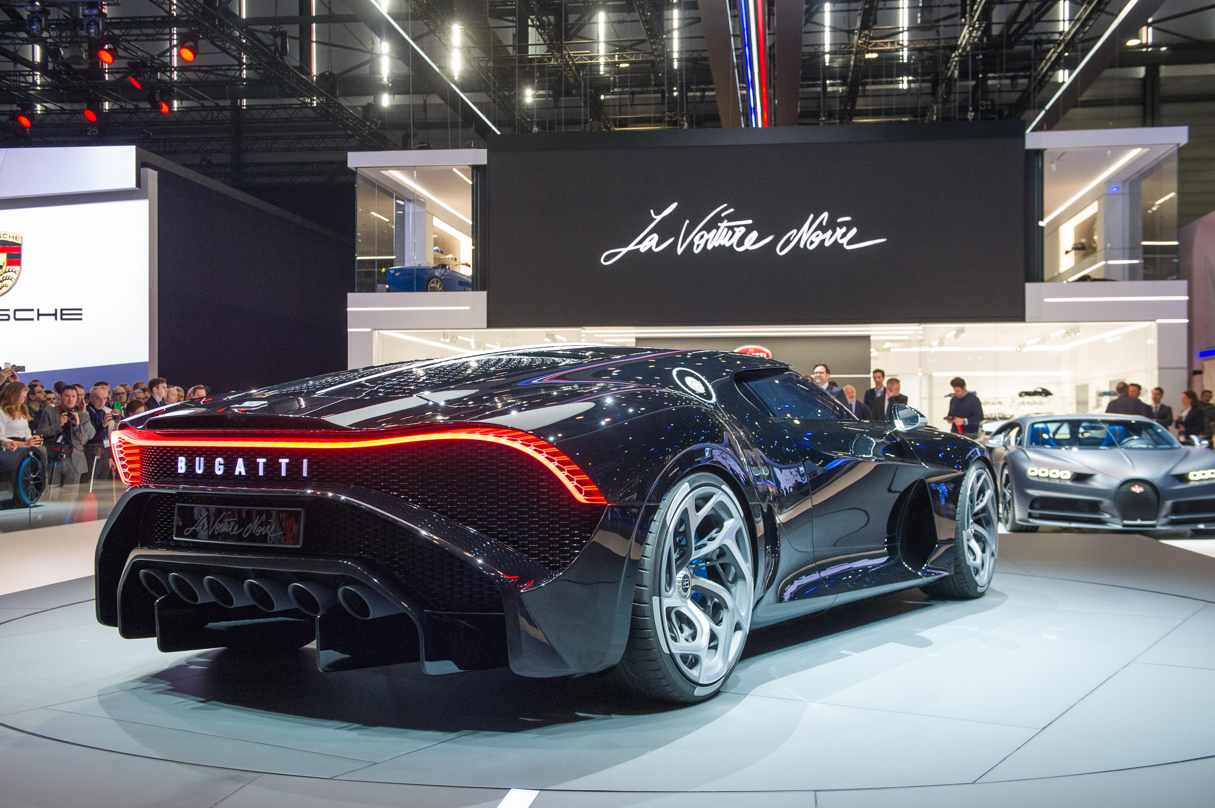 Bugatti La Voiture Noire: Geneva 2019: Bugatti La Voiture Noire Is The Most
