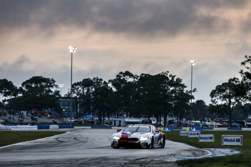 bmw m8 gte finishes fourth and seventh in the gtlm class at the 12 hours of sebring autoscoops nl. Black Bedroom Furniture Sets. Home Design Ideas