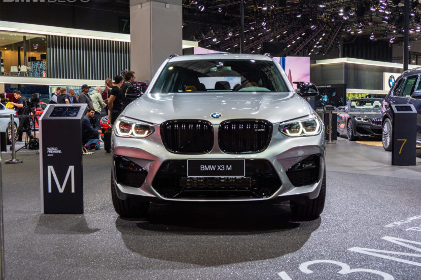 2020 BMW X3 M Competition 17 830x553