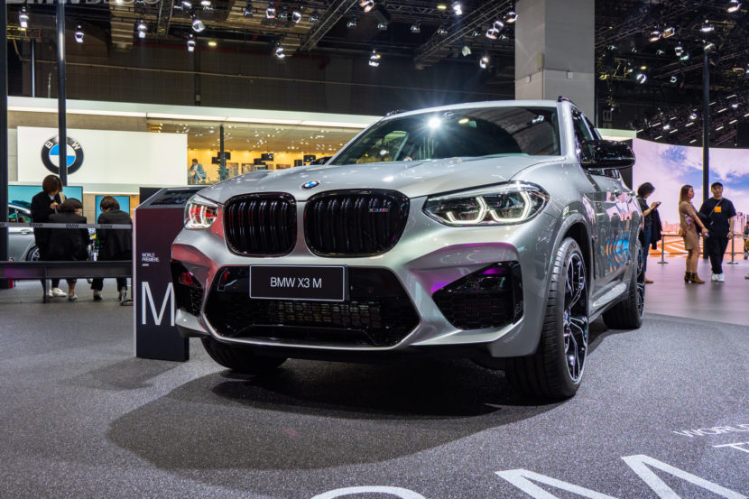 2020 BMW X3 M Competition 19 830x553