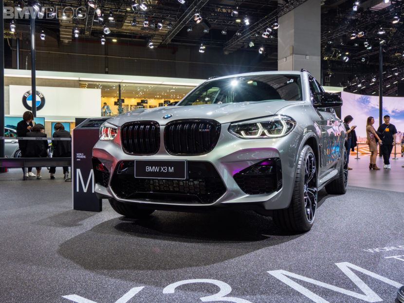 2020 BMW X3 M Competition 19 830x623