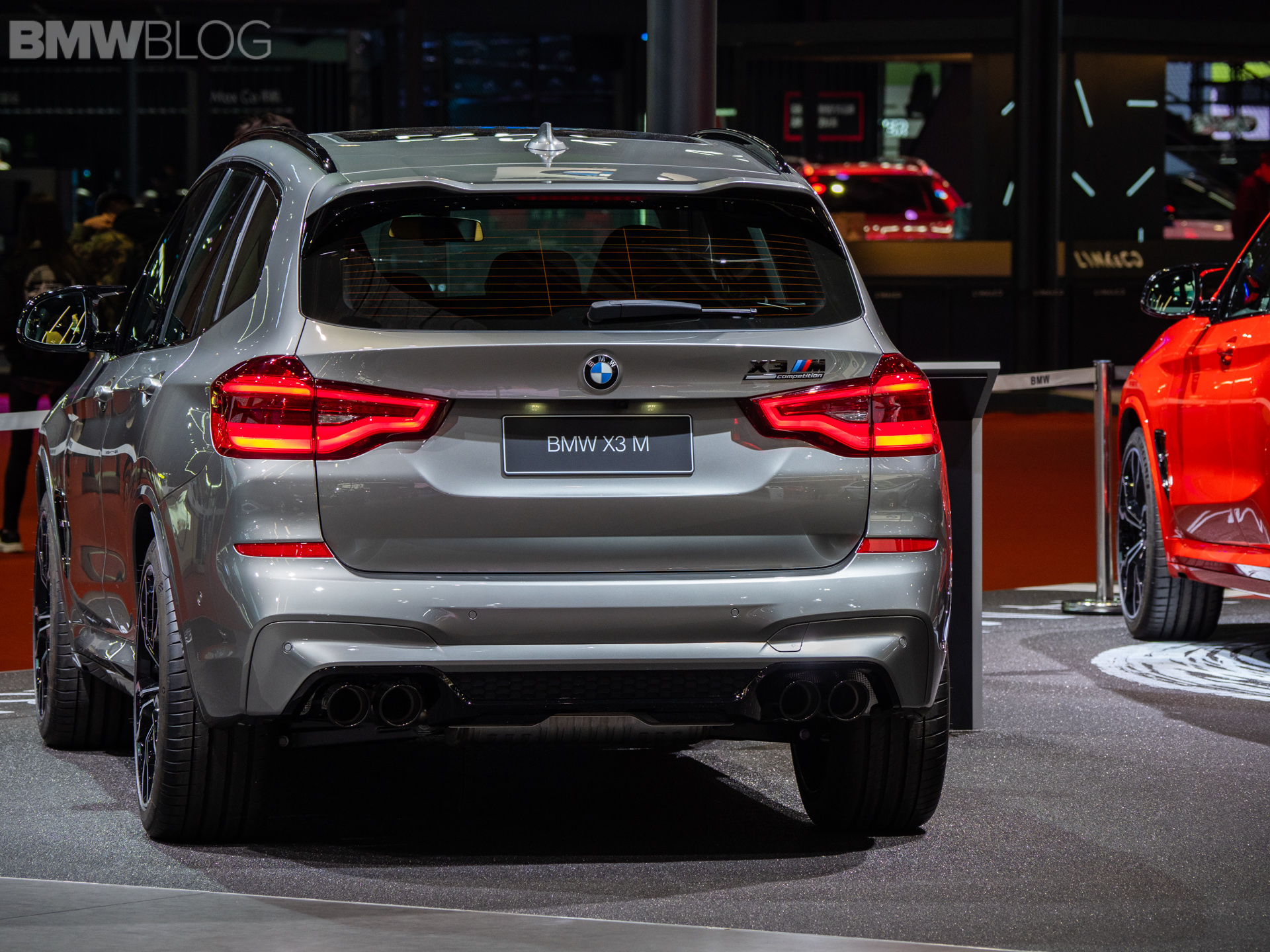 2019 Shanghai Auto Show Live Video Of The Bmw X3 M Competition