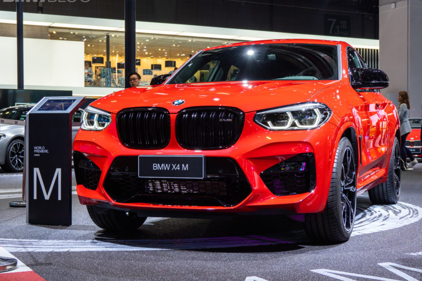 2020 BMW X4 M Competition shanghai 3 830x553