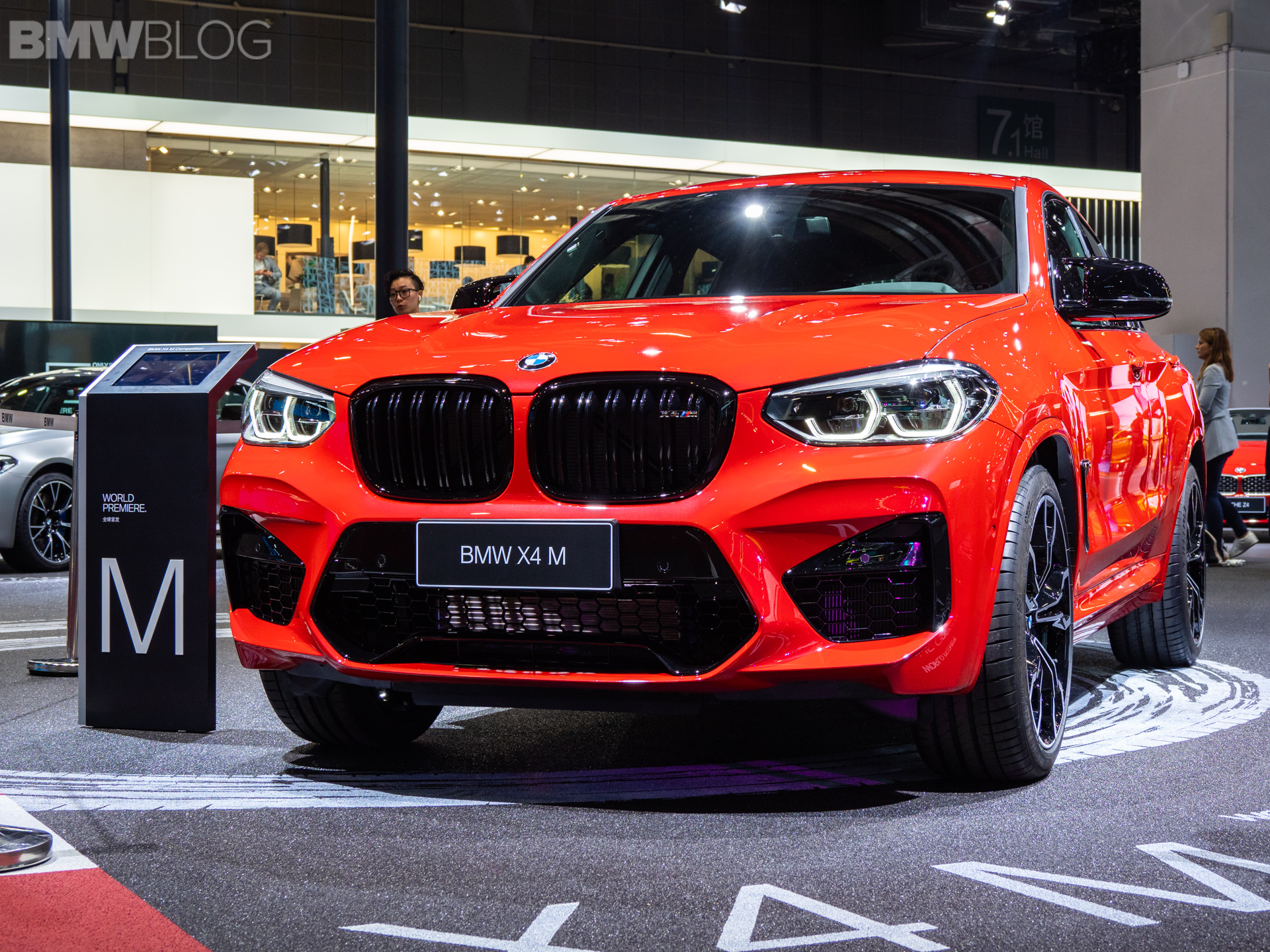 2020 BMW X4 M Competition shanghai 3