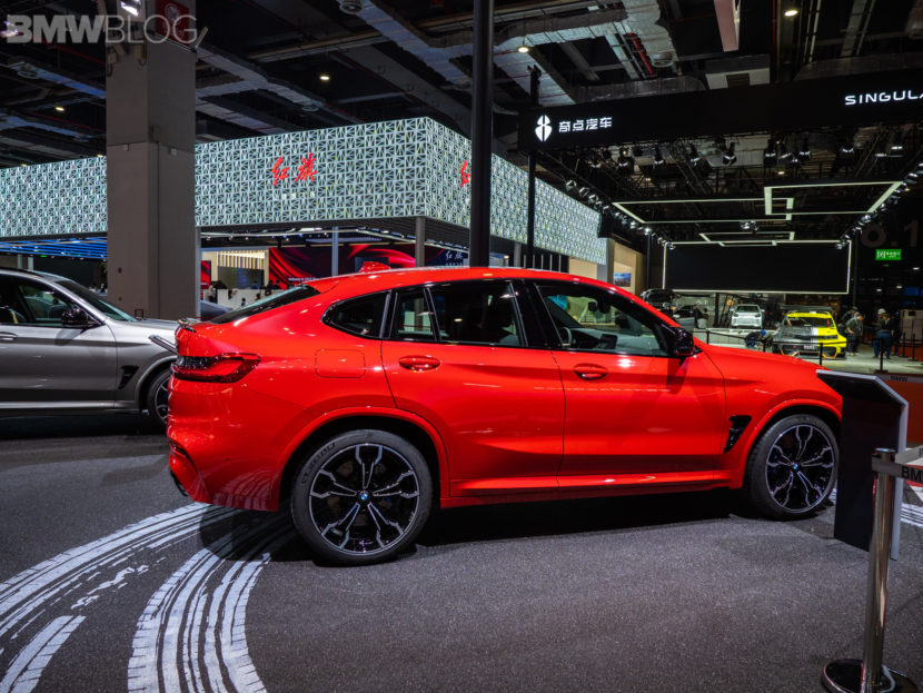 2020 BMW X4 M Competition shanghai 31 830x623