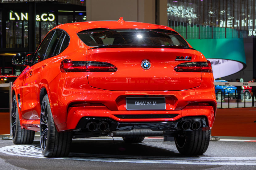 2020 BMW X4 M Competition shanghai 37 830x553