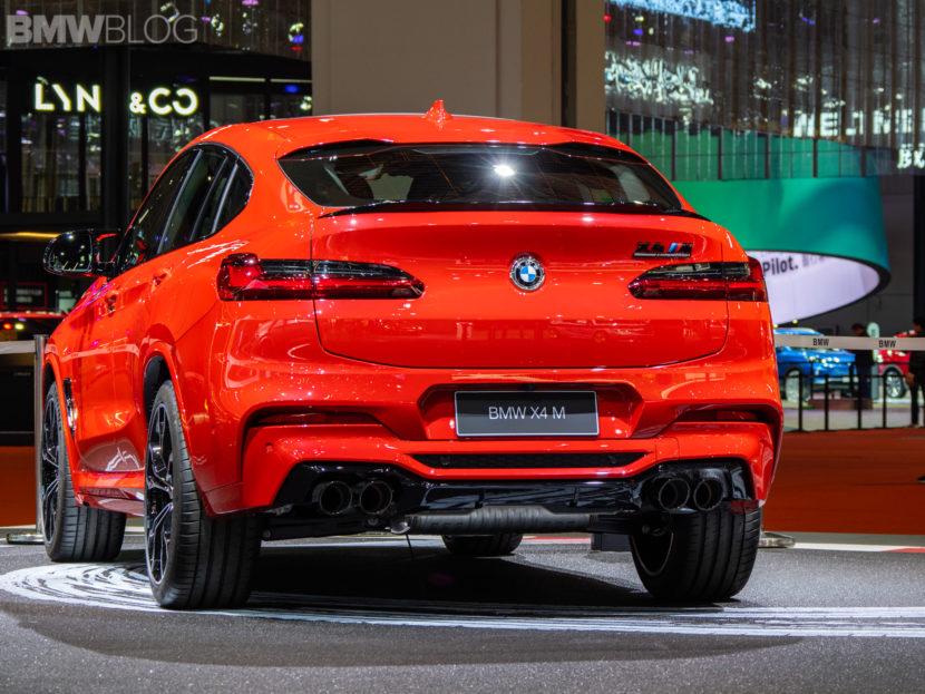2020 BMW X4 M Competition shanghai 37 830x623