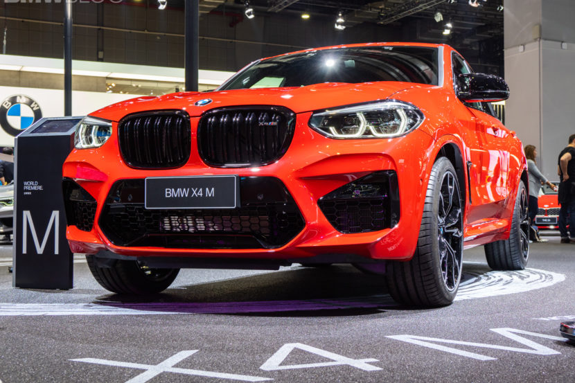 2020 BMW X4 M Competition shanghai 4 830x553