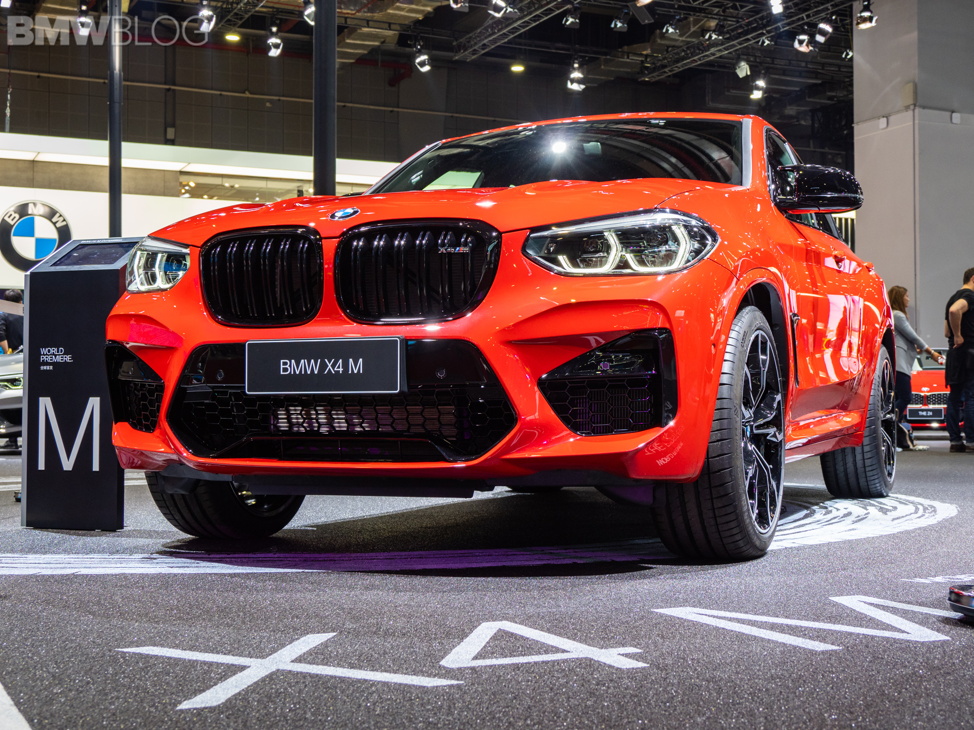 2019 Shanghai Auto Show Bmw X4 M Competition Live Footage