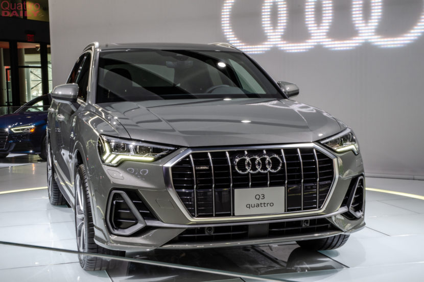 Audi Q3 New York Auto Show 2 of 14 830x553
