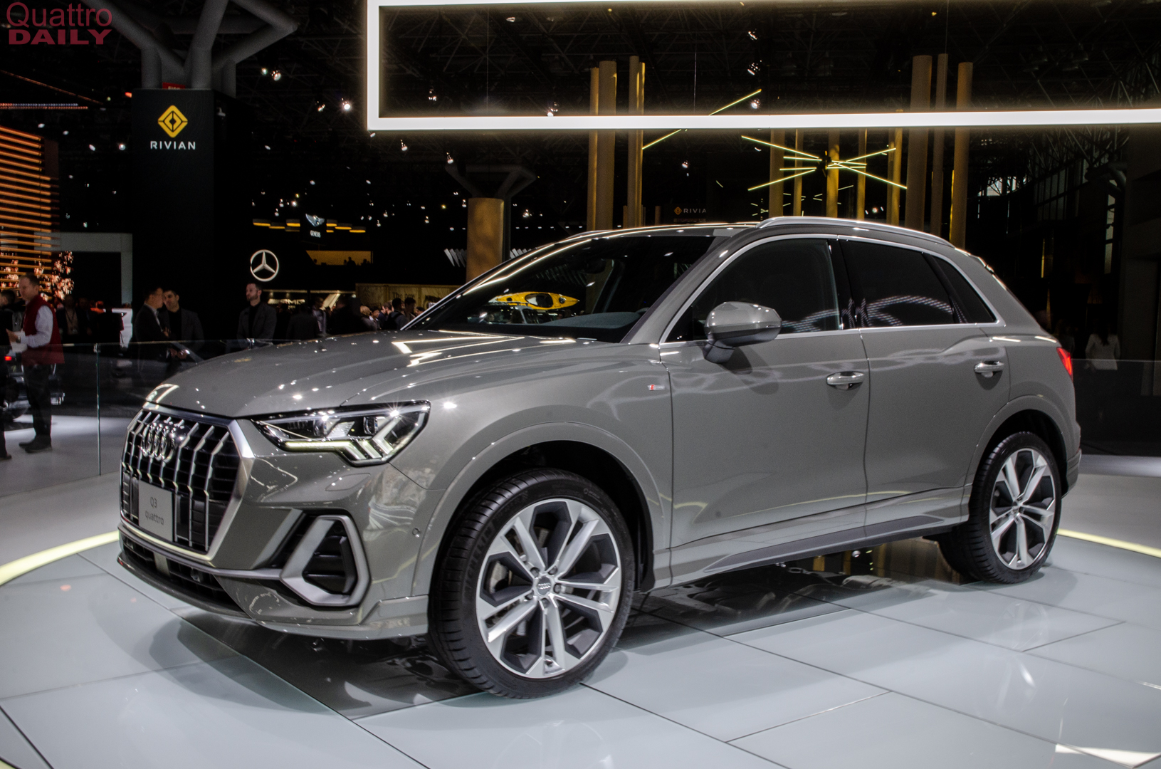 Build A Car >> 2019 NY Auto Show: 2019 Audi Q3 is here to take on the BMW X1