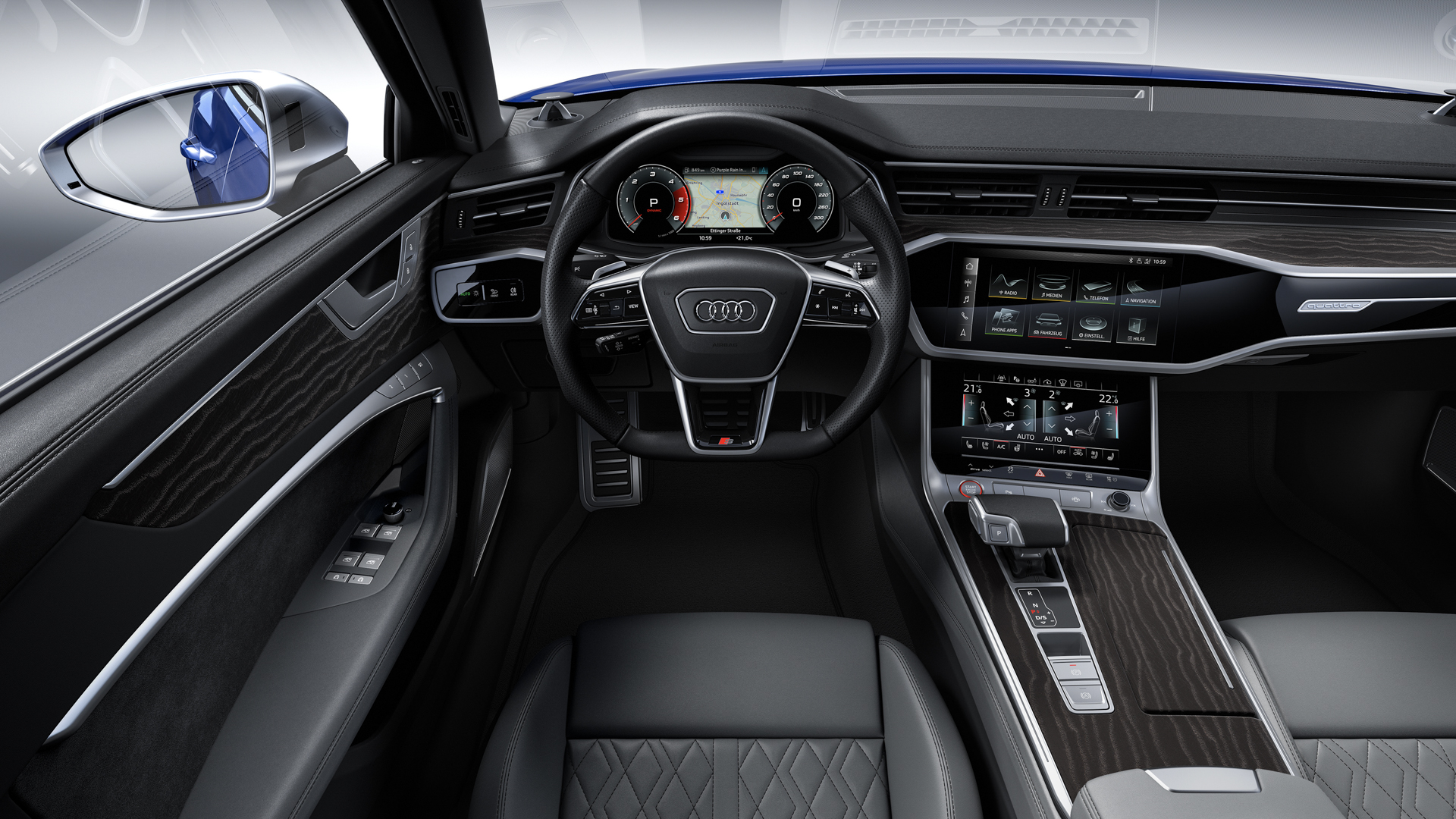 2020 audi s6 is here to take on the bmw m550i