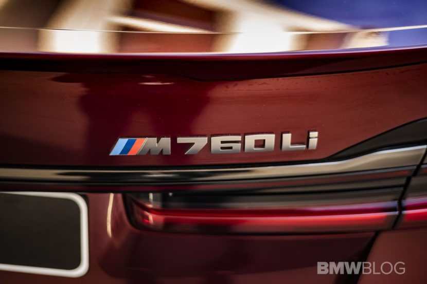 Aventurine Red BMW M760Li 07 830x553