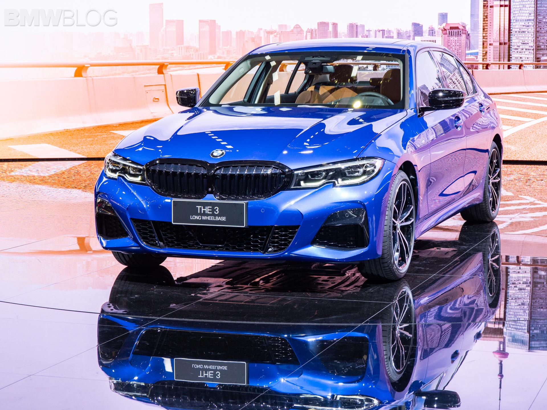 BMW 3 series long wheelbase g20 2019 shanghai 10 1