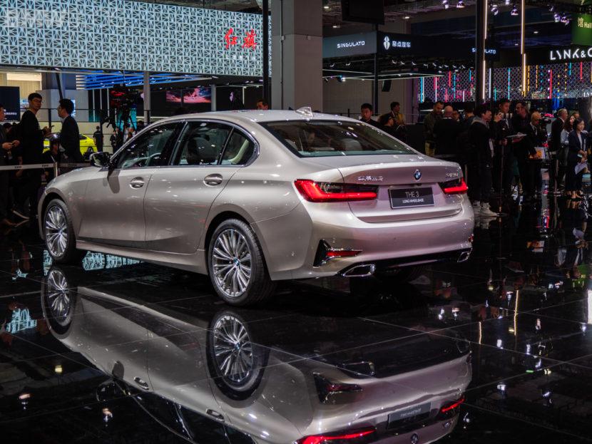 BMW 3 series long wheelbase g20 2019 shanghai 19 1 830x623
