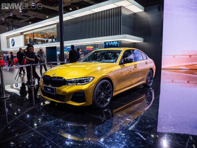 BMW 3 series long wheelbase g20 2019 shanghai 22 1 830x623