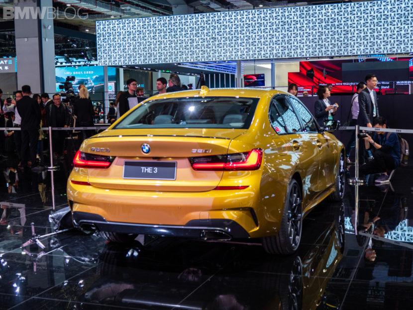 BMW 3 series long wheelbase g20 2019 shanghai 36 2 830x623