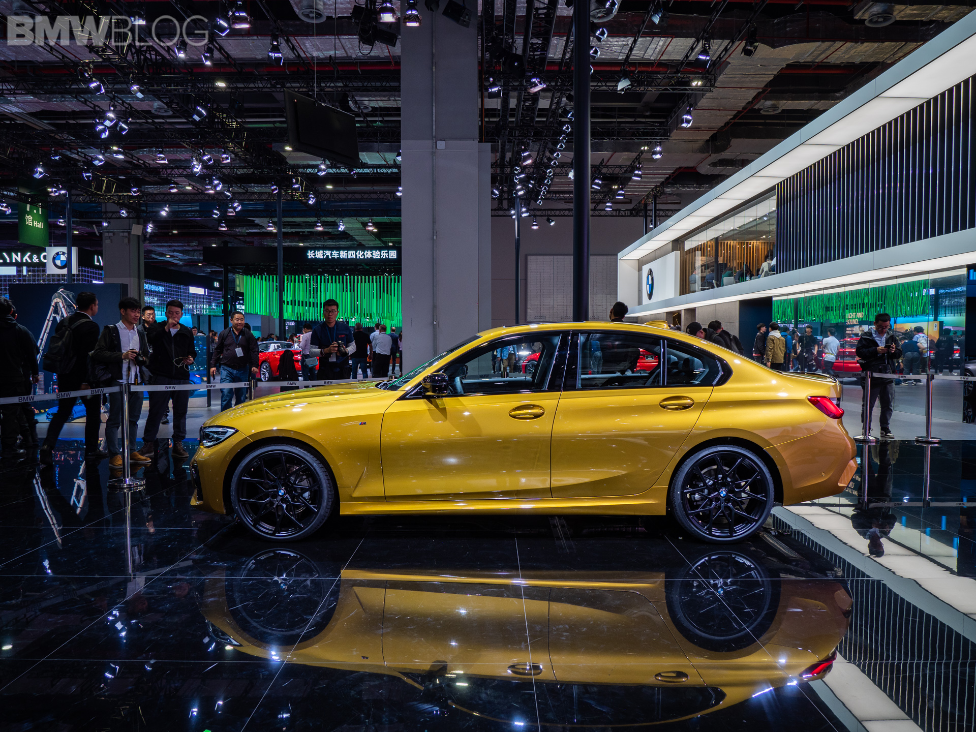 2019 BMW 3 Series Long Wheelbase at the Shanghai Motor Show