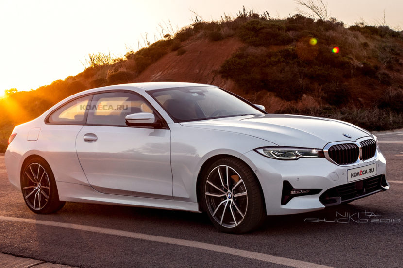 BMW 4 Series Render 1 830x553